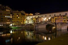 vecchio de ponte de Florence Images libres de droits