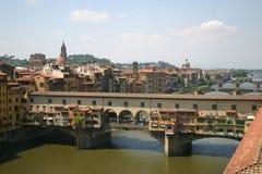 Vecchio de Ponte (puente viejo) Foto de archivo libre de regalías