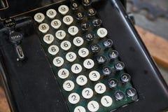 Vecchio dettaglio del calcolatore immagine stock libera da diritti