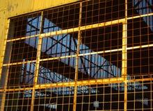 Vecchio dettaglio della fabbrica di Glanville Immagine Stock