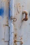Vecchio dettaglio della porta Immagine Stock