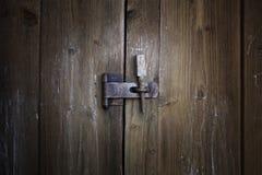 Vecchio dettaglio della serratura Immagine Stock Libera da Diritti