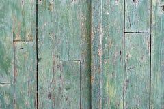 Vecchio dettaglio di legno della porta Immagini Stock