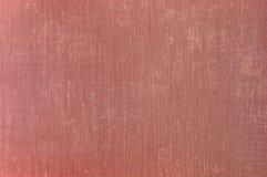 Vecchio dettaglio di tela invecchiato di struttura del tessuto di lerciume rosso profondo del chiaretto, grande primo piano orizz Immagine Stock Libera da Diritti