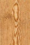 Vecchio dettaglio verniciato annodato stagionato di struttura di lerciume della plancia di Pinewood immagine stock