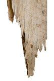 Vecchio di legno isolato Fotografia Stock Libera da Diritti