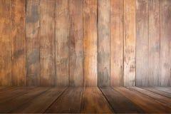 Vecchio di legno vuoto di marrone, fondo di struttura, spazio della copia fotografie stock