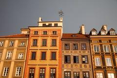 Vecchio di mercato della città, Varsavia, Polonia Fotografia Stock