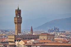 Vecchio di Palazzo a Firenze Immagine Stock Libera da Diritti