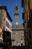 Vecchio di Palazzo a Firenze Fotografia Stock Libera da Diritti