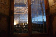 Vecchio di Palazzo, fuori di dentro e fotografie stock libere da diritti