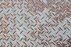Vecchio di piastra metallica Fotografie Stock Libere da Diritti
