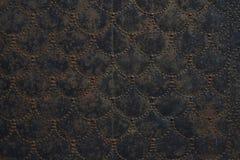 Vecchio di piastra metallica Fotografia Stock