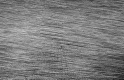 Vecchio di piastra metallica graffiato Fotografie Stock