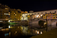 Vecchio di Ponte, Firenze Immagini Stock Libere da Diritti