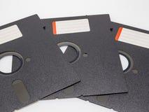 Vecchio disco 5 del dischetto 25 pollici Fotografie Stock Libere da Diritti