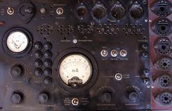 Vecchio dispositivo di misurazione Immagine Stock