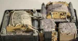 Vecchio dispositivo elettrico Immagini Stock