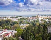 Vecchio distretto a Vladimir Immagine Stock