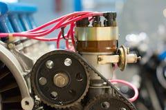 Vecchio distributore commerciale del motore Fotografie Stock