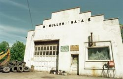Vecchio distributore di benzina Fotografia Stock