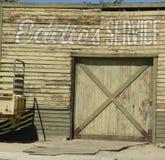 Vecchio distributore di benzina Immagine Stock Libera da Diritti