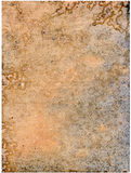Vecchio documento Fotografia Stock Libera da Diritti
