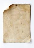 Vecchio documento immagine stock