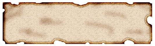 Vecchio documento Immagine Stock Libera da Diritti