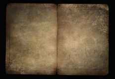 Vecchio documento Fotografie Stock Libere da Diritti