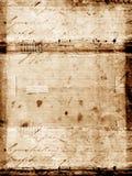 Vecchio documento illustrazione vettoriale