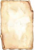 Vecchio documento - acquerello Fotografia Stock Libera da Diritti
