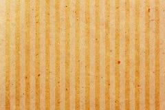 Vecchio documento allineato Fotografia Stock
