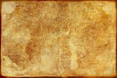 Vecchio documento antico fotografie stock