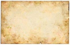 Vecchio documento in bianco Fotografia Stock Libera da Diritti
