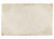 Vecchio documento concettuale dell'annata Immagine Stock