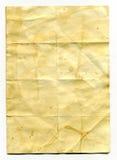 Vecchio documento dell'annata Fotografie Stock