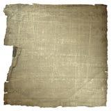 Vecchio documento estraneo nello stile scrapbooking Fotografie Stock