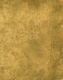 Vecchio documento giallo fotografie stock