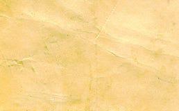 Vecchio documento graffiato Fotografia Stock