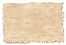 Vecchio documento handmade Fotografie Stock