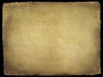 Vecchio documento Handmade Fotografia Stock