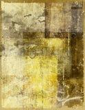 Vecchio documento macchiato Fotografia Stock
