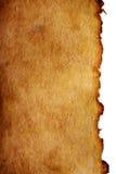 Vecchio documento marrone Fotografie Stock Libere da Diritti