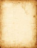 Vecchio documento misero Immagini Stock