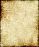 Vecchio documento o pergamena Fotografia Stock Libera da Diritti