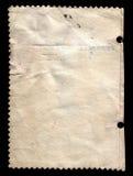 Vecchio documento per il record Fotografia Stock Libera da Diritti