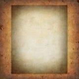 Vecchio documento strutturale Fotografie Stock