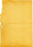 Vecchio documento violento Immagine Stock