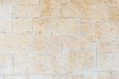 Vecchio e muro di mattoni invecchiato Fotografie Stock